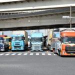 いろいろな種類の大型トラック